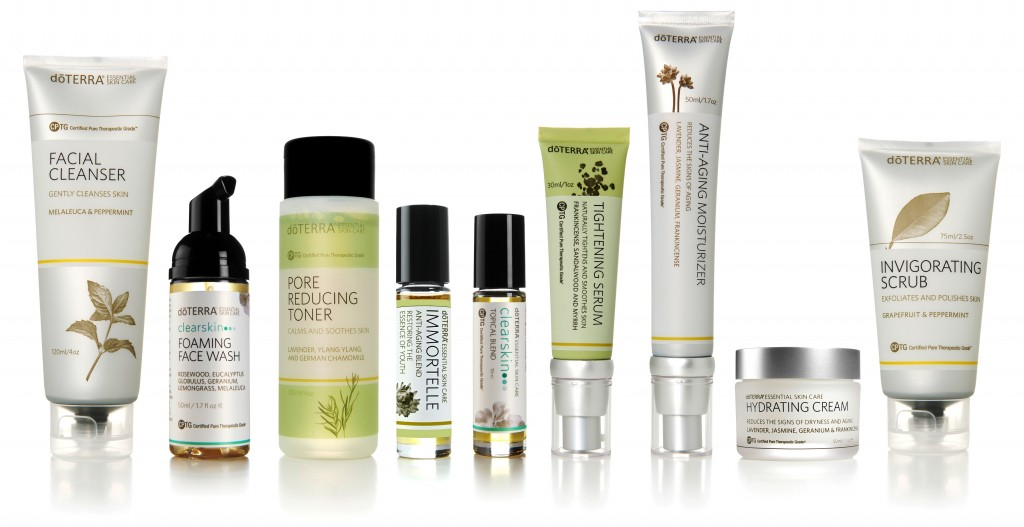 Anti-aging skin care collection